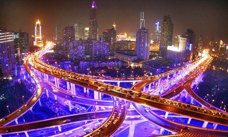 Shanghai gears up for green lighting & LED Street Light   kiwi Lighting